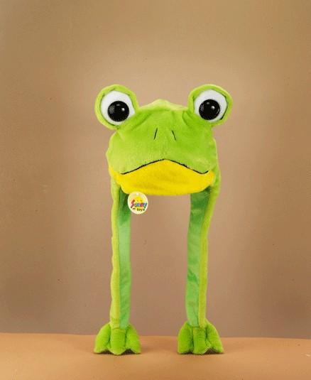 Party Plüsch Mütze: Frosch