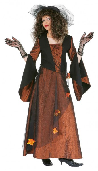 Faschingskostüm Damen Herbstfee, Kleid