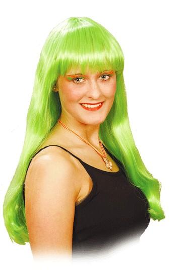Perücke Marlene, grün