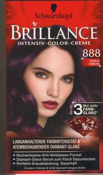 Brillance Intensiv-Color-Creme 888 Dunkle Kirsche, 143 ml