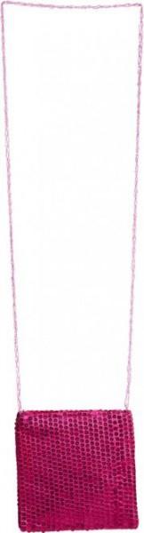 Paillettentasche pink