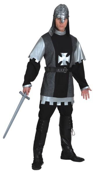 Schwarzer Ritter (Oberteil und Gürtel)
